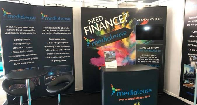 Medialease at Media Production Show 2018