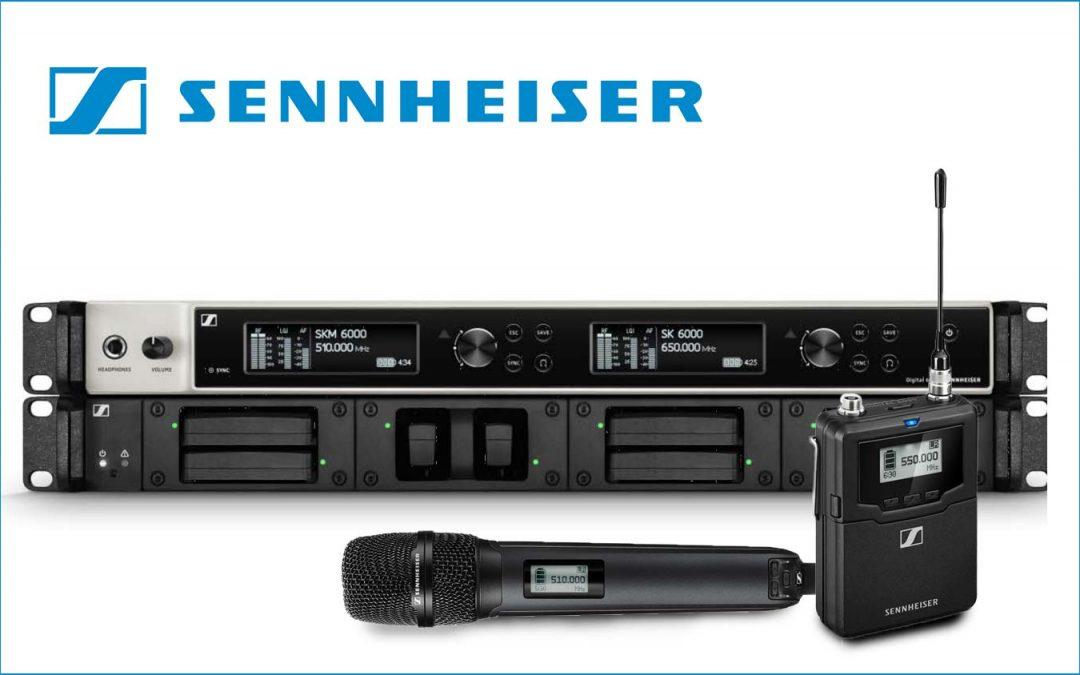 Sennheiser 0% finance offer on D6000 wireless series