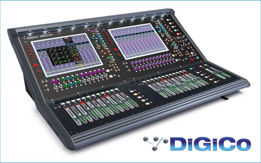 Interest free offer on selected DiGiCo mixing consoles