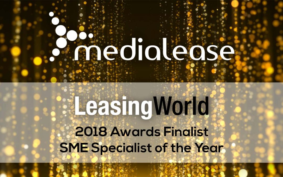 Medialease shortlisted at Leasing World Awards 2018