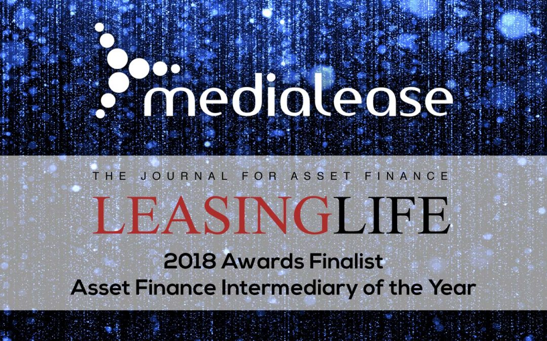 Medialease shortlisted at Leasing Life Awards 2018